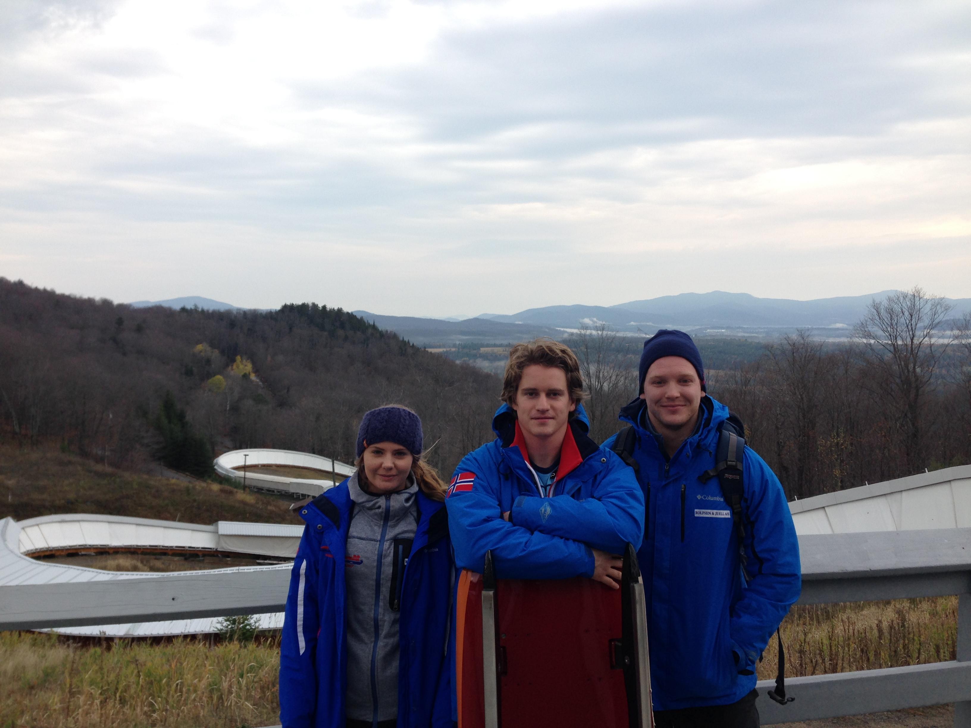 Gry Martine Mostue, Thor Haug Nørbeck og Jo Alexander Koppand.