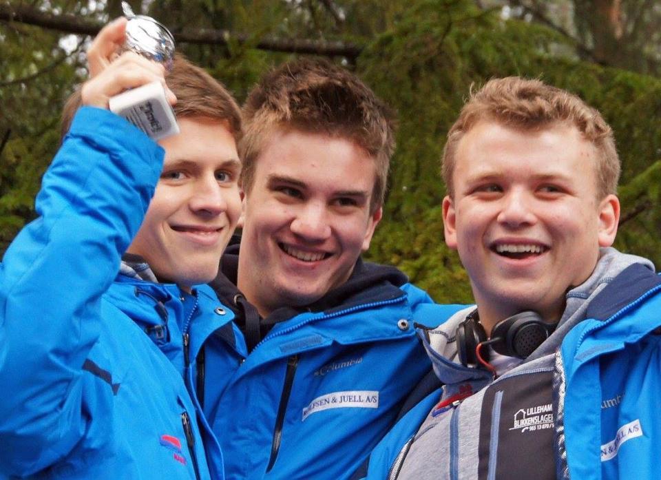 Morten, Alexander og Martin
